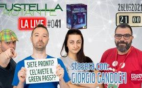 Fustella Rotante – LA LIVE #041 – 26/07/2021 – Giorgio Gandolfi – Fuga dal Manicomio