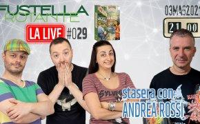 Fustella Rotante – LA LIVE #029 – 03/05/2021 – Ospite Andrea Rossi – Mercado de Lisboa