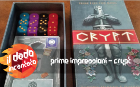 Prime Impressioni – Crypt ( Jeff Chin, Andrew Nerger , ed. Gate On Games)