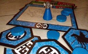 Set del giocatore blu di Daimyo