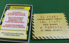 Deckscape furto a Venezia