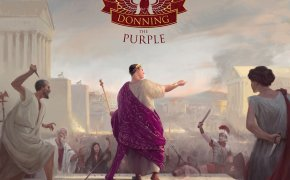 Donning the Purple: copertina