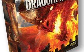 Dragonfire: copertina