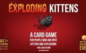 Exploding Kittens copertina