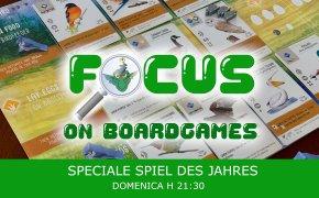 Focus on boardgames: speciale Spiel Des Jahres 2019