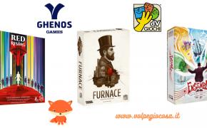 Novità dV Giochi e Ghenos Games: le uscite fino a Maggio