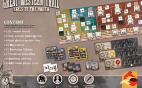 Great Western Trail: Rails to the North - anteprima Essen 2018