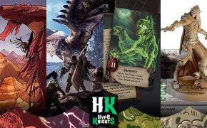 #04 • anteprime KS | Chronicles of Drunagor, Monster Hunter World, the Witcher e Maximum Apocalypse