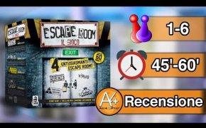 Escape Room - Il Gioco Da Tavolo (NO SPOILER)