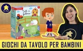 Tutti in Fattoria - Gioco da Tavolo per Bambini - Clementoni - 4+ anni