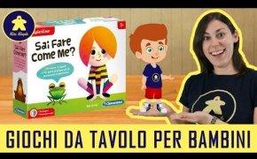 Sai Fare Come Me? - Gioco da Tavolo per Bambini - Clementoni 3+ anni