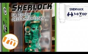 Recensioni Minute [239] - Sherlock: la tomba dell'archeologo (serie Q System)