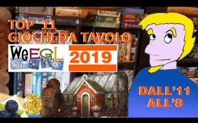 Top 11 Giochi da Tavolo provati al WEEGL 2019! [11° - 8°]