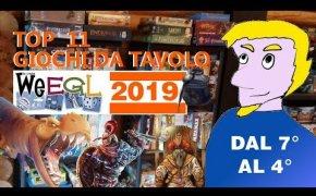 Top 11 Giochi da Tavolo provati al WEEGL 2019! [7° - 4°]