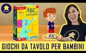 ABC...divertiamo! - Gioco da Tavolo per Bambini - Clementoni - 3+anni