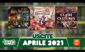 I Giochi da Tavolo in USCITA a APRILE 2021 | ZOMBICIDE e TANTE novità