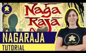 Nagaraja Tutorial - Gioco da tavolo per due - La ludoteca #88