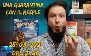 Partita in solitario a WENDAKE - Una quarantina con il Meeple