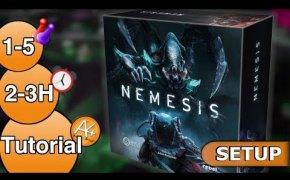 Come si gioca a Nemesis? [SETUP]