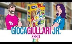 Gioca Giullari Junior - Zero il gioco di carte per bambini per riconoscere numeri e colori