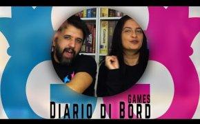 Diario di Bord...Games! 12-18 marzo 7 giochi da tavolo giocati Vlog #100