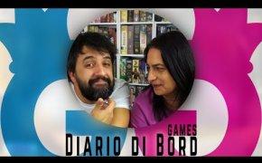 Diario di Bord...Games! 19-25 marzo 6 giochi da tavolo giocati Vlog #101