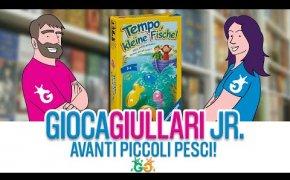 Gioca Giullari Junior - Avanti Piccoli Pesci! Il gioco da tavolo per bambini col tabellone mobile!