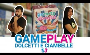 Go Nuts For Donuts, Partita Completa al gioco dei dolcetti!