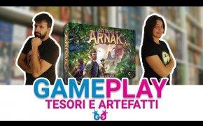 Le Rovine Perdute di Arnak, Partita Completa al gioco da tavolo di esplorazione e mistero!