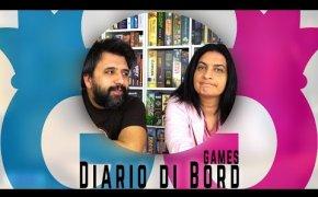 Diario di Bord...Games! 26 marzo -1 Aprile 7 giochi da tavolo giocati Vlog#102