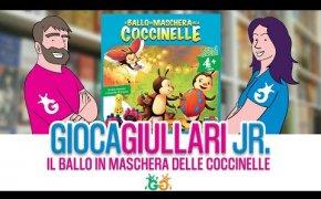 Gioca Giullari Junior - Il ballo in maschera delle Coccinelle! Un magnetico gioco per bambini 4+