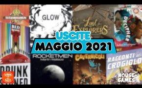 I Giochi da Tavolo in USCITA a MAGGIO 2021   Una VALANGA di GIOCHI
