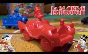 LA 24 ORE DI PAPEROPOLI: ecco il GIOCO da tavolo che esce con TOPOLINO