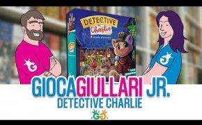 Gioca Giullari Junior - Detective Charlie il gioco da tavolo per bambini per essere investigatori!