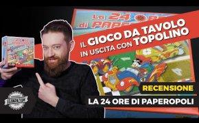 La 24 ore di Paperopoli - Il GIOCO DA TAVOLO in uscita con TOPOLINO