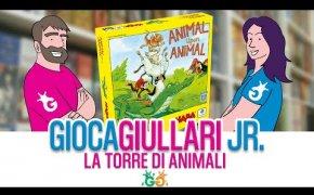 Gioca Giullari Junior - La Torre Di Animali il gioco da tavolo per bambini di equilibrio!
