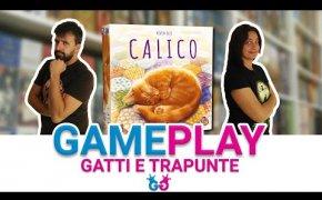 Calico, Partita Completa al gioco da tavolo dei gatti che dormono sulle trapunte!