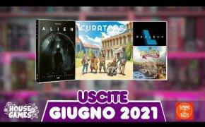 I Giochi da Tavolo in USCITA a GIUGNO 2021 | Arriva l'ESTATE!