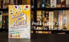 Perla Ludica 217 - Tutto su 1 Carta (Alles auf 1 Karte)