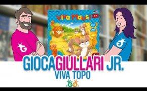 Gioca Giullari Junior - Viva Topo! Gioco da tavolo per bambini 4+