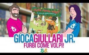 Gioca Giullari Junior - Furbi come Volpi! Gioco da tavolo per bambini 5+