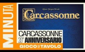 Carcassonne 20° anniversario - Recensioni Minute [370]