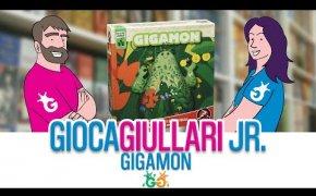 Gioca Giullari Junior - Gigamon, Gioco per bambini di memoria 5+ con gli elementi della natura