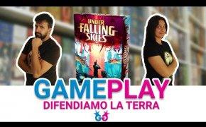 Under Falling Skies Partita Completa al gioco da tavolo in solitario in cui combattiamo gli alieni!