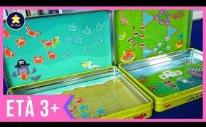 4 GIOCHI DA VIAGGIO magnetici per bambini - 3/4/5 anni