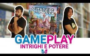 Citadels, Partita completa al Gioco da Tavolo di Bluff che è perfetto anche in due.