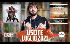 I Giochi da Tavolo in USCITA a LUGLIO 2021 | NUOVE glorie e GRANDI ritorni!