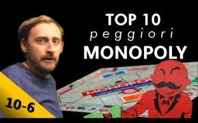 Top 10 peggiori MONOPOLY mai creati ! Posizioni 10 - 6