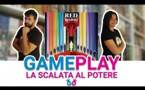 Red Rising partita completa al gioco da tavolo tratto dalla trilogia di Pierce Brown
