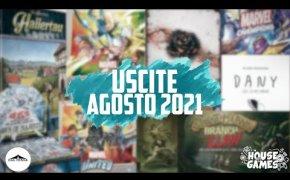 I Giochi da Tavolo in USCITA ad AGOSTO 2021 | Più di Quanto mi ASPETTASSI